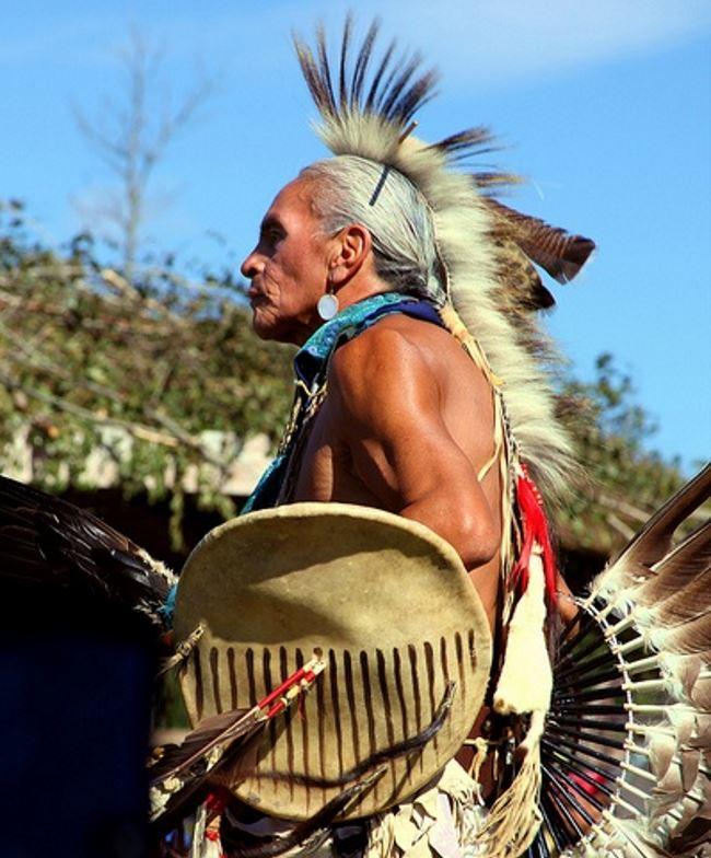 Головной убор известный под названием роуч (roach), изготавливался из игл дикобраза и оленьего, или лосиного, конского и даже медвежьего волоса, крепившихся к основе таким образом, чтобы это выглядело как убывающий гребень. Здесь фото индейца из племени чероки (cherokee) в подобном головном уборе (чероки относились к племенам ирокезской (iroquois) языковой группы, но не входили в состав Ирокезской конфедерации).